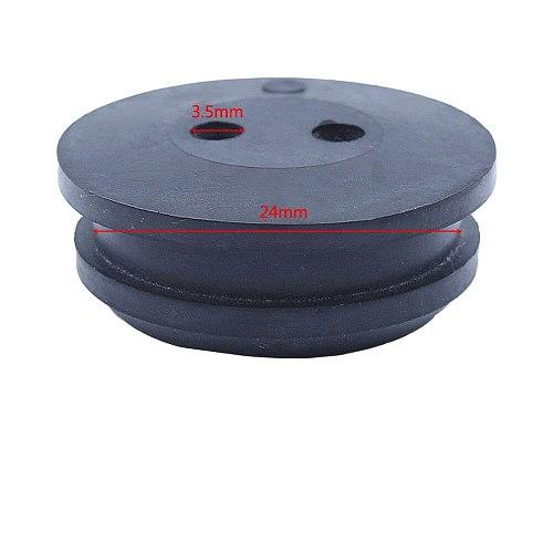 10pcs/lot 2 Hole Fuel Gas Tank Grommet For Homelite 51944 51945 51954 51955 51974 51975 Grass Trimmer Replacement Spare Part