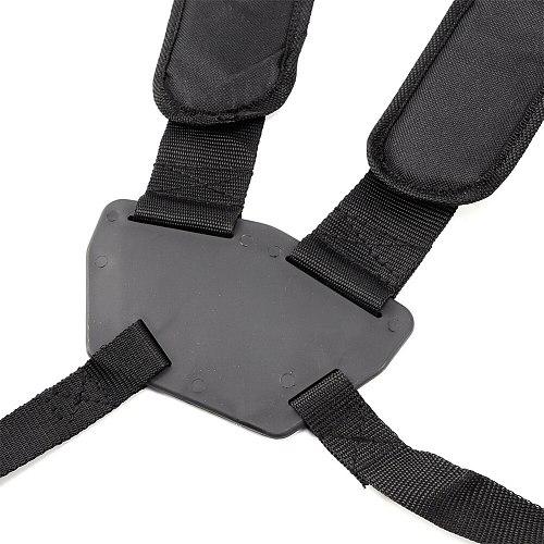 Adjustable Shoulder Strap Double Breasted Carry Harness Strimmer Universal Garden Pruner With Hook Tool For Brush Cutter Trimmer