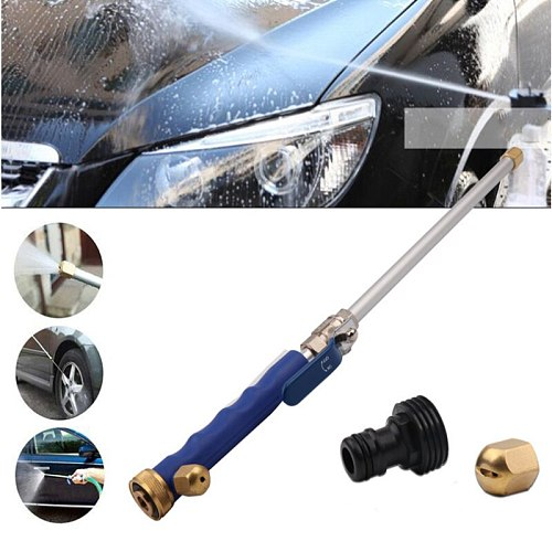 High Pressure Water Gun 46cm Metal Water Gun High Power Washer Spray Car Washing Sprinkler Cleaning Tools