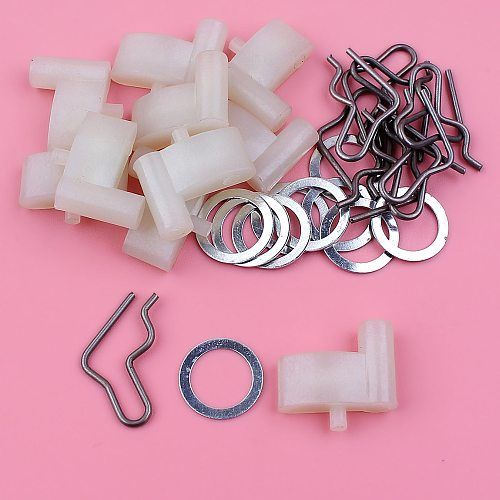 10pcs/lot Starter Pawl Dog Spring Washer Kit For Stihl FS55 BG55 BG85 BG65 FS45 TS400 Trimmer Replacement Part 4116 195 7200