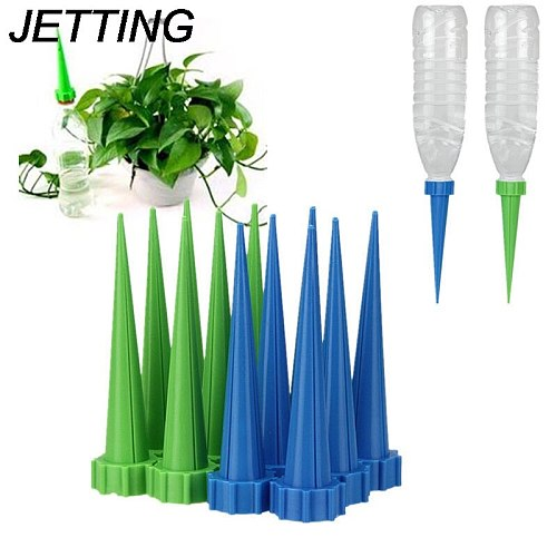 4PCS Automatic Garden Watering Spike  Watering Cones Cleaning Garden Tools Plant Flower Waterers Bottle Irrigation System