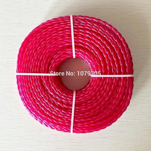 Grass Trimmer Line 3.0mm Diameter 380G twist for Brush Cutter Power Nylon Line Grass Cutting weed cutter