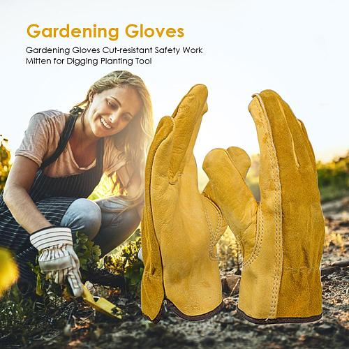 Hot Sale Garden Work Gloves Comfortable and Durable Cut Proof Thick Stab Resistant Kitchen Garden Butcher Mittens Tools