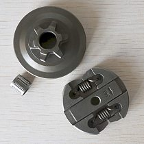 CLUTCH & CLUTCH DRUM & NEEDLE BEARING FIT FOR CHINESE CHAINSAW 2500 25CC