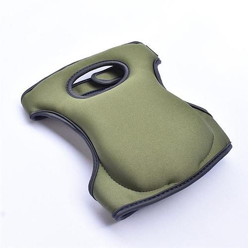 1 Pair Gardening Weeding Knee Pads Waterproof EVA Foam Cushion Soft Inner Liner Adjustable Straps Mattress Memory Sponge Pads