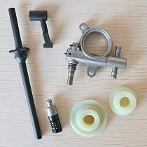 Oil Pump Filter Pipe Hose Line worm Kit For Chinese 25CC 2500 Chainsaw Spare Parts