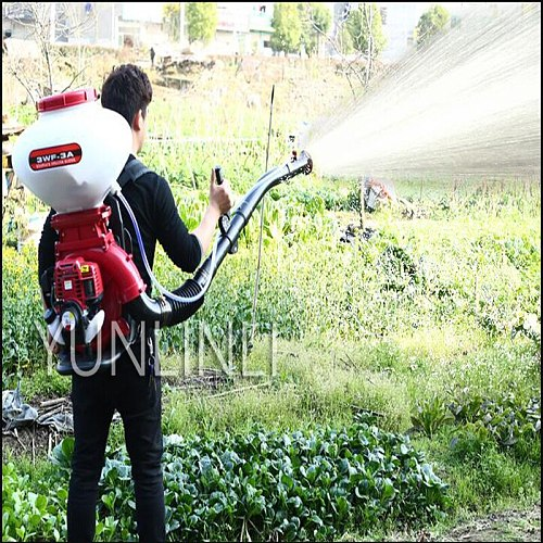 Gasoline Engine Sprayer High-Intensity Lawn Garden Sprayer & Atomizer Agricultural Pesticides Fertilizers Sprayer 3WF-3A 26L