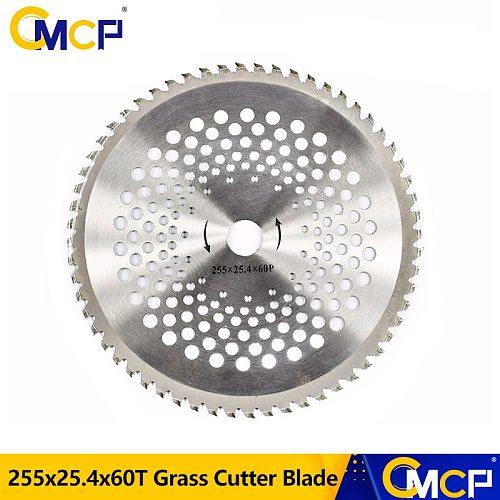 CMCP 10 Inch Alloy Trimmer Blade 60T Lawn Mower Grass Eater Trimmer Head Brush Cutter Circular Blade Knife Garden Tools