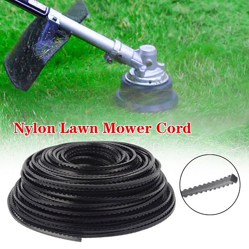 Nylon Lawn Mower Cord Trimmer Line Rope Garden Outdoor Power Tool Nylon rope brush cutter head stripper lawn wire cutting line