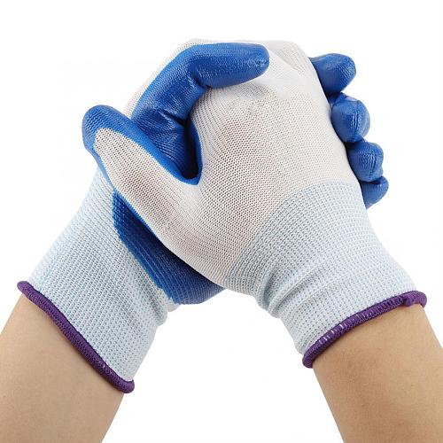 1Pair Non-slip Waterproof Labor Work Garden Gloves Handling Gloves  Household  Cleaning Gloves
