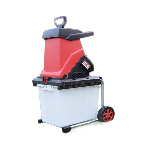 New Desktop electric breaking machine 2500W high power electric tree branch crusher electric pulverizer garden tool 220V 1PC