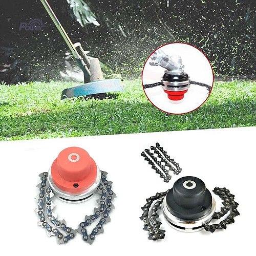 2019 New Universal 65Mn Lawn Mower Chain Grass Trimmer Head Chain Brushcutter Garden Trimmer Grass Cutter Spare Parts Tools