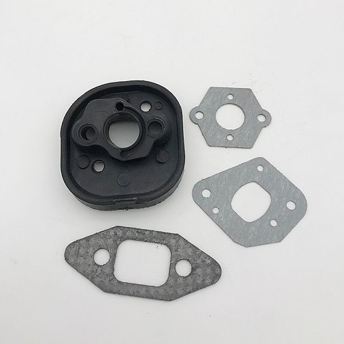 Intake Manifold Carburetor Gasket Kit for Partner Chainsaw 350 351 370 371 420 McCulloch MacCat 335 435 440 Chain Saw Parts