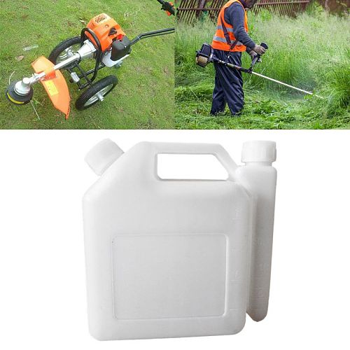 1.5L Litre 2-Stroke Petrol Fuel Oil Mixing Bottle Tank For Trimmer Chainsaw Tools Parts 1:25