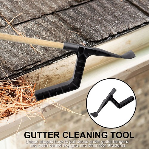 Gutter hooks Gutter Cleaning Spoon Scoop for Farm Garden Gutter Skylights Roof Structure Cleaning  High Quanlity Hand Tools HOt