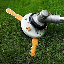 Dual-Use Nylon Razor Mower Grass Trimmer Head Cutter Blade For Garden Lawn Machine Accessories Power Tools Easy Cut