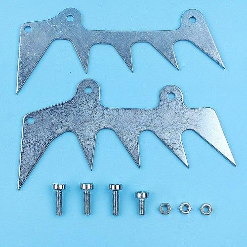 Dual Dogs Bumper Spike, Felling Spike Set For Stihl 026 027 MS270 MS260 MS261 MS271 MS280 MS360 MS390 MS650 Chainsaw Spare Part