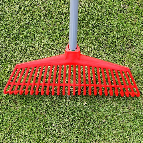 26 Teeth Gardening Plastic Grass Rake Odorless and Non-toxic Garden Tool