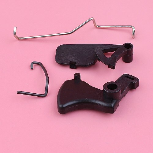Throttle Trigger Interlock with Throttle Choke Rod Lever For Stihl MS180 MS170 018 017 MS 180 170 Chainsaw Parts