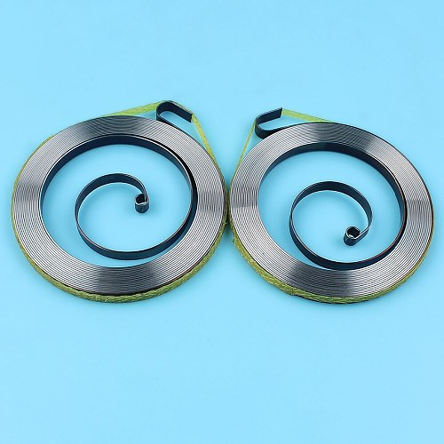 2 x Recoil Starter Spring For HUSQVARNA 137 136 141 142 235 236 240 Chainsaw Replacement Spare Parts 530 042 095