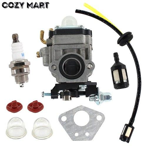 15mm Carburetor Fuel Line Kit For 43cc 52cc 40-5 BC430 CG430 CG520 1E40F-5 44F-5 Motor Brush Cutter Trimmer