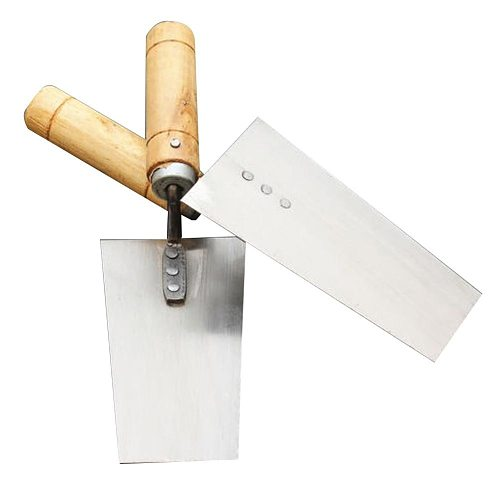 Silver Cement Float Margin Trowel for Bricklayer