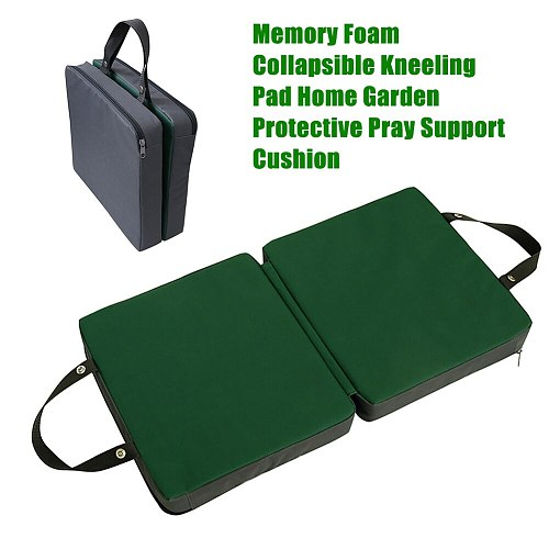 Slow Recovery Foldable Home Garden Mat Kneeling Pad Support Cushion Pray Garage Collapsible Protective Memory Foam Thickened