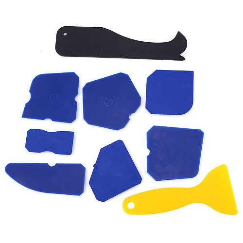 garden tools gardening gloves 16PCS Silicone Sealant Remover Spreader Caulking Scraper Glue Finishing Tools gloves
