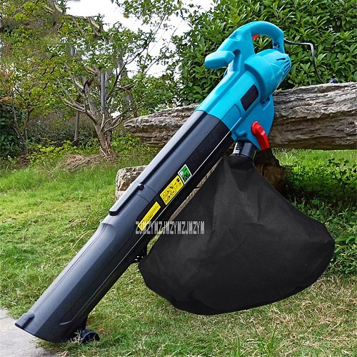Electric Blower Tree Leaf Pulverizer Outdoor Garden Tools Blow Suction Machine High Power Blowing And Suction Machine 220V 3000W