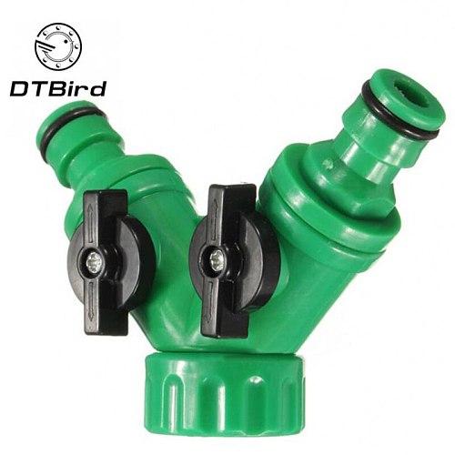 Three-way ball valves are widely used in garden irrigation, balcony watering flowers, garden irrigation, car washing, garden irr