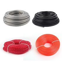 2.4/3.0mm Professional Fine Quality Mowing Nylon Grass Trimmer Rope Brush Cutter Strimmer Line Mowing Wire Lawn Mower Accessory