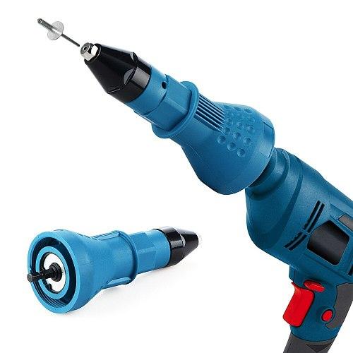 Electric Rivet Guns Pull Adapter Electric Pull Rivet Conversion Adapter Electric Rivet Nut Guns Riveting Drill Adaptor Nut Tools