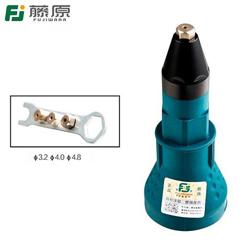FUJIWARA Rivet Nut Tool Adaptor Electric Rivet Nut Gun Riveting Tool Cordless Drill Adapter Rivet Nut Gun