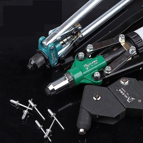 Manual Rivet Nut Gun Riveting Tool Cordless Riveting Drill Adaptor Insert Nut Tool Riveting Drill Adapter