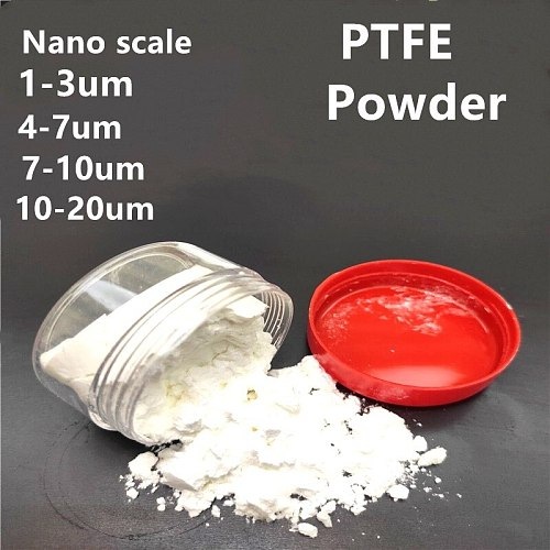 PTFE Powder Corrosion Resistance High Lubrication Chain Waterproof Ultrafine  About 1-20 Um Micro Meter Microparticl