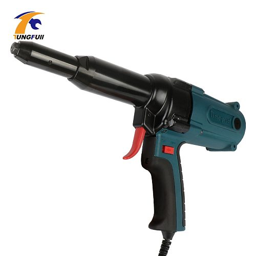 Nail Gun Electric Blind Rivet Gun Riveting Tool Electrical Power Tool 400w 220v For 3.2-5.0mm Upholstery Framing Tools