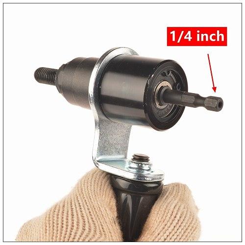 MXITA Riveter Electrical Rivet Nut Gun Steel and Battery Insert Nut Cordless Drill Adapter Riveting Tools M4 M5 M6 M8 M10