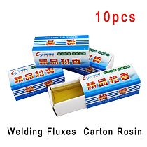 10 Pcs High Purity Rosin Block Electronic Soldering Solder Welding Repair Fluxe Soldering Tin Material