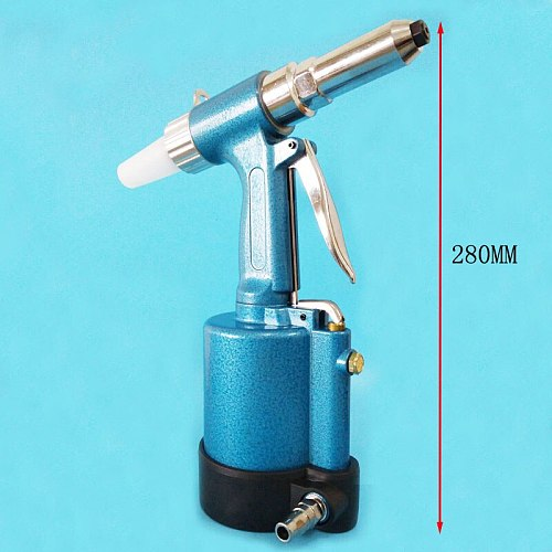 The Pneumatic Blind Rivet Gun 2.4-5.0MM With Waste Rivets Collection Bottle Blind Rivet tools Free shipping