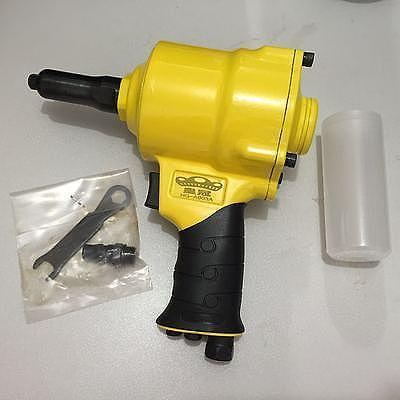 HG-A003A Air Riveter Hydraulic Pop Rivet Pneumatic Riveting Gun 3/16 (4.8mm), 5/32 (4.0mm), 1/8 (3.2mm), 3/32 (2.4mm)