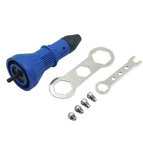 Electric Pull Rivet Conversion Adapter Electric Rivet Nut Guns Riveting Drill Adaptor Nut Tool Multifunction Nail Gun Rivets p99