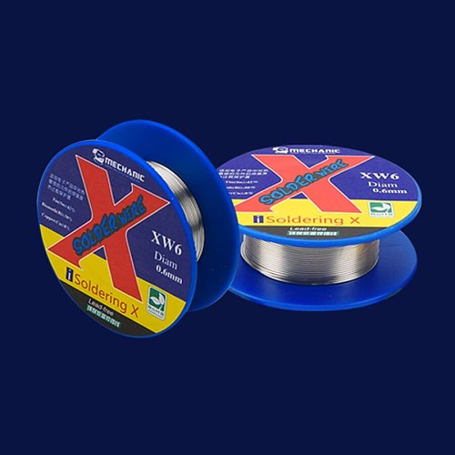 MECHANIC 40g Lead-free solder wire low temperature melting point 138 degrees Celsius solder wire for iPhone X XS XSM Soldering