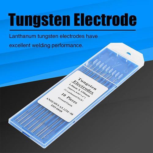 10pcs box WL20 Tungsten Electrode Professional Tig Rod 2.0 Lanthanated for Welding Machine