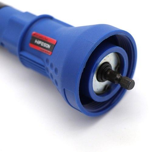 HIFESON Electric Rivet Nut Gun Riveting Tool Cordless Riveting Drill Adaptor Insert Nut Tool Riveting Drill Adapter 2.4mm-4.8mm