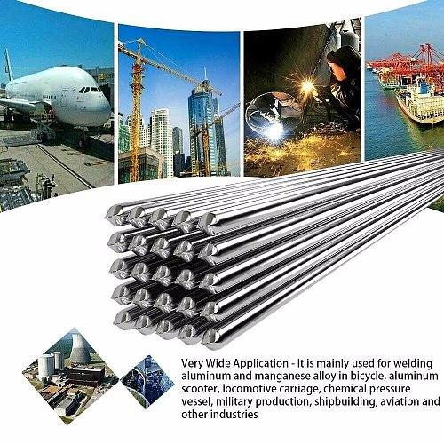 Soldering Aluminum Welding Wire Flux Core Lehim Teli Electrode Solder Wire Diameter 1.6mm/2.0mm Car Bumper Repair Kit