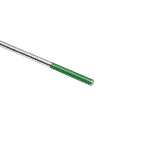 1.0 x 175mm Green Tip WP Type TIG Welding Pure Tungsten Electrode Pack of 10