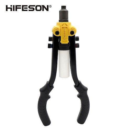 HIFESON 13 Riveter Gun Hand Riveting Kit Nuts Nail Gun Household Repair Tools 2.4/3.2/4.0/4.8/6.4mm