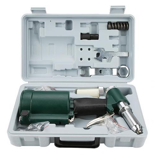 Automatic Air Riveter Gun Industrial Air Hydraulic  Rivet Gun Pneumatic Riveter Kit Set 2.4-4.8mm