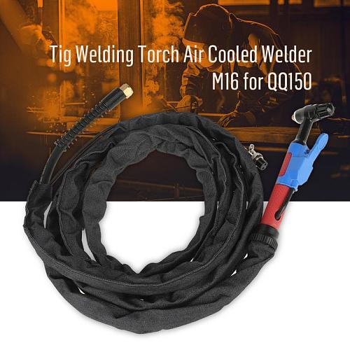 Metal Ceramic Tig Welding Torch Air Cooled Welder M16 for QQ150 3.7m/12ft Shield Cup Electrode M16 Set tig сварка soplete cocina