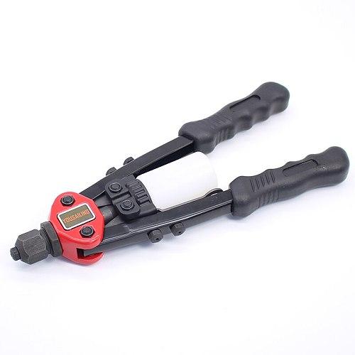 YOUSAILING BT-806 11  (280MM) Heavy Duty Hand Rivets Tool Double Hand Manual Riveting Tool Hand Riveter Gun 2.4-4.8mm
